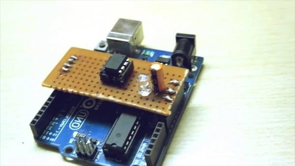 arduino programming hex