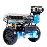 Secrets: Arduino 4wd ultrasonic robot code | Technical sheet
