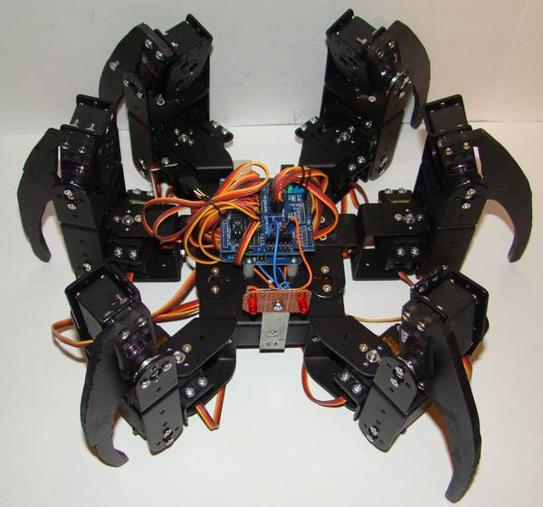 arduino robot arm code stepper