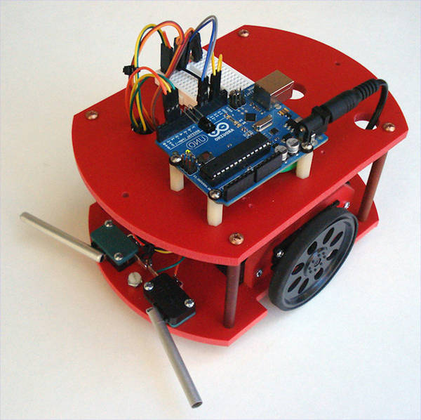 arduino qtr line follower robot code
