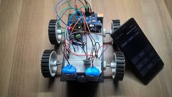 robot programming using python